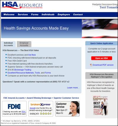 Medical Health Savings Accounts