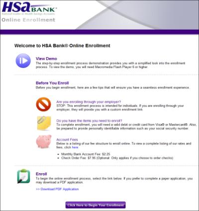 Medical Health Savings Accounts from HSA Bank